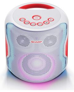 Sharp PS-919 Party Speaker wit - 130W - Bluetooth 5.0