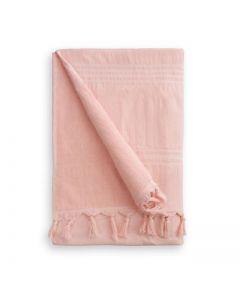 Byrklund hamamdoek - roze - 90x170 cm - katoen
