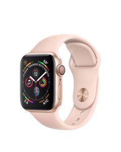 Apple Watch series 4 - 40mm - goud - rozenkwarts sportbandje