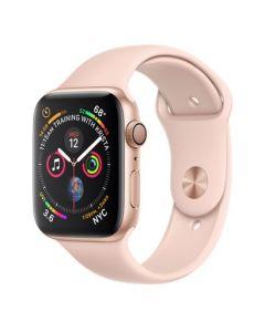 Apple Watch series 4 - 44mm - goud - rozenkwarts sportbandje