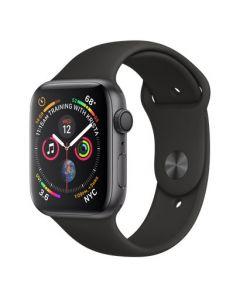 Apple Watch series 4 - 44mm - spacegrijs - zwart sportbandje