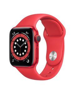 Apple Watch Series 6 - 40mm - Rood - rood sportbandje
