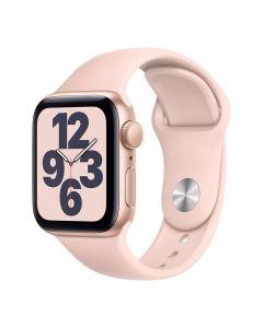 Apple Watch SE - 40mm - Goud - roze sportbandje