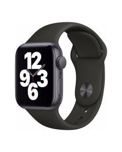 Apple Watch SE - 40mm - Spacegrijs - zwart sportbandje