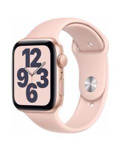 Apple Watch SE - 44mm - Goud - roze sportbandje