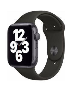 Apple Watch SE - 44mm - Spacegrijs - zwart Sportbandje