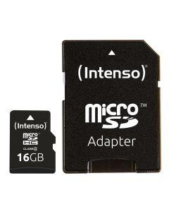 Intenso 3403470 microSDHC kaart - 16gb - Class 4