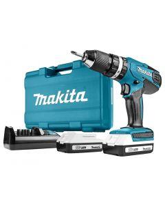 Makita HP457DWE - 18 V Klopboor-/schroefmachine