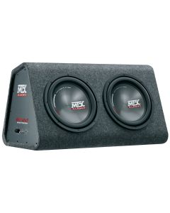 MTX Audio RTP12x2 Roadthunder 2x12inch auto subwoofer met versterker