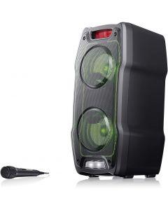 Sharp PS-929 Party Speaker zwart, bluetooth, accu