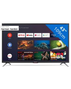 Sharp Aquos 43BL6 - 43 inch 4K Ultra-HD Android Smart-TV