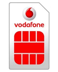 Vodafone prepaid SIMkaart